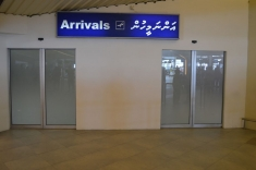 Arrival hall exit