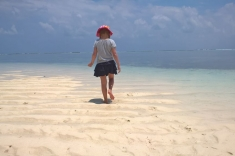 Sand in Maldives