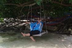 Eva K. relax beach