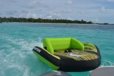 Maldives trip - fun tubes