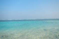 Maldives, Huraa, bikini beach view