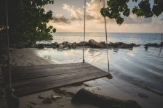 Maldives guest house - relax beach
