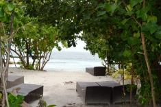 Maldives guest house - relax beach