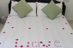 Maldives guest house - double room with suprise
