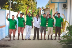 Maldives - staff team