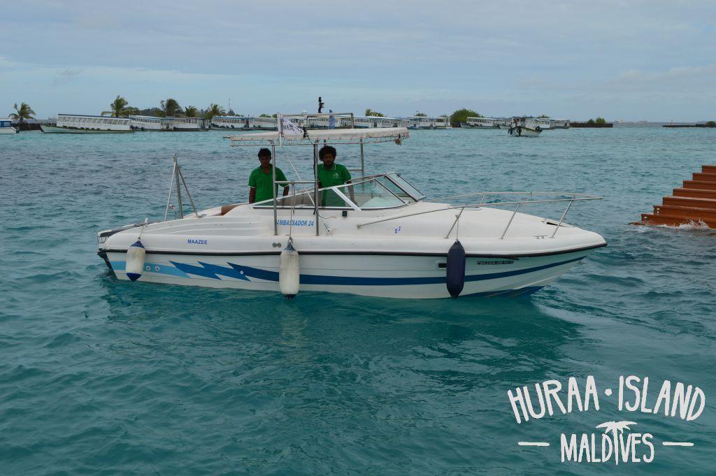 Male To Huraa Island Ferry