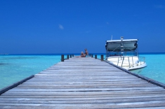 Maldives vacation -Viligili island trip - harbour