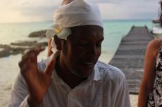 Maldives beach wedding