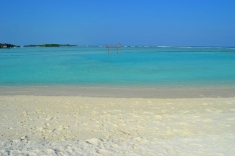 Bikini beach Huraa island