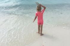 Snorkeling in Huraa island