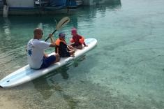 Padleboard Huraa island