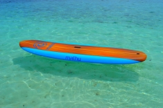 Maldives vacation - paddleboard