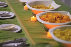 Maldives guest house - restaurant - buffet